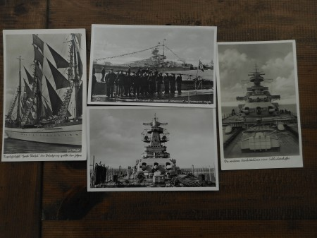 19 POSTCARDS FROM SAILOR
